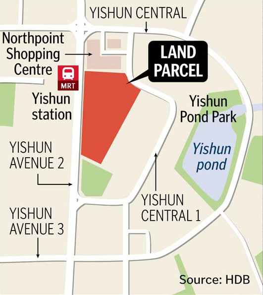 Northpark Residences: NorthPark Location Map