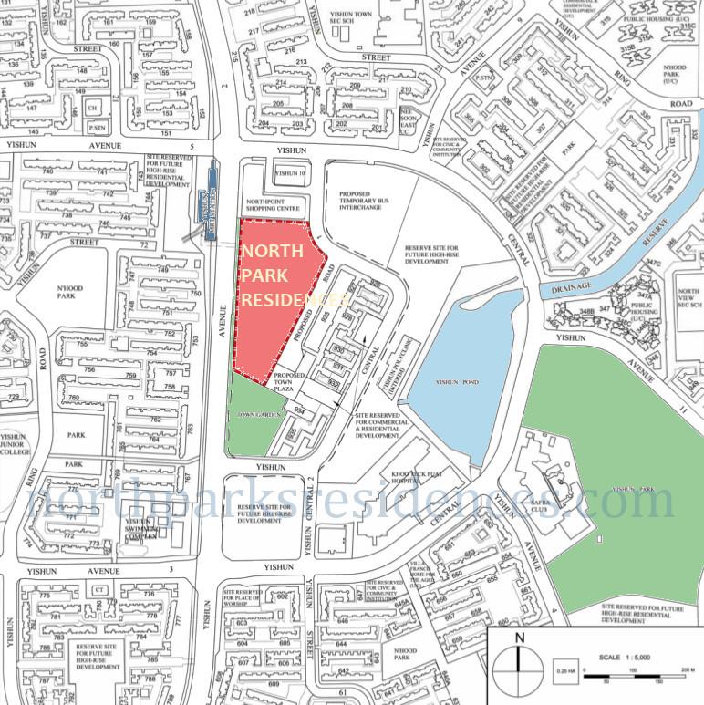 North Park Location Northpark Location Map