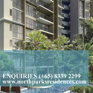 northpark residences show flat